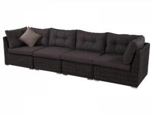 Плетеный диван на 4 персоны.
