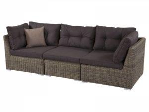 Отличный секционный диван из искусственного ротанга.