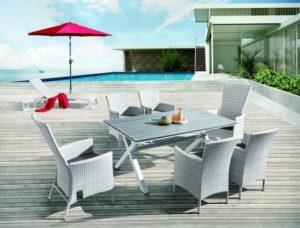 AROMA - столовая мебель для веранды!