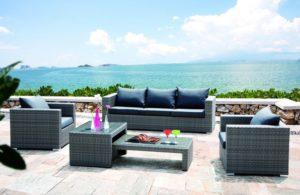 Мебель для террасы COLUMBUS - практичная мебель для отдыха!