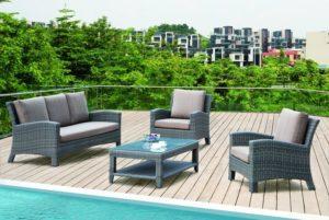 Мебель для загородного отдыха! Практичная и красивая диванная группа GRACE!