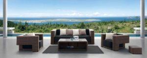 Искусственный ротанг мебель Granada - мебель для отдыха на веранде!