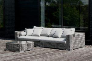 Искусственный ротанг мебель Kanti lounge - первоклассная лаунж мебель для террасы!