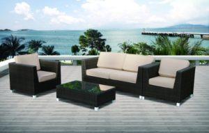 Искусственный ротанг мебель MALAGA - диванная группа из искусственного ротанга!