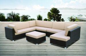 Искусственный ротанг мебель MALAGA-lounge - отличная диванная группа на террасу!