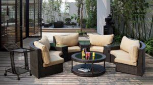 Искусственный ротанг мебель PENINSULA LOUNGE - эстетически совершенна!