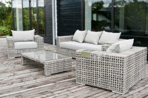 Искусственный ротанг мебель Tito lounge Set - комплект плетеной мебели премиум класса из Италии!