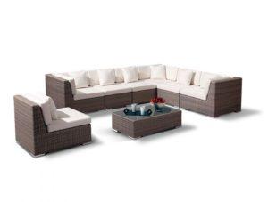Плетеная мебель комплект Belluno - идеальный выбор лаунж зоны на веранду!