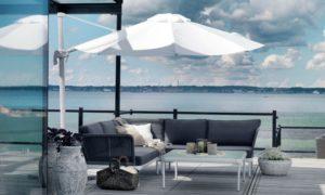 Комплект ротанг мебель ajaccio brafab iskystvo-rotanga - замечательная диванная группа для патио!