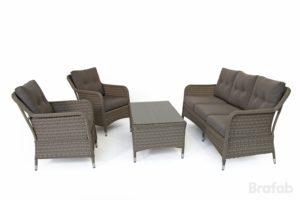 Искусственный мебель ротанг Colby Set - комплект стол, диван, 2 кресла!