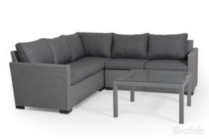 Плетеная мебель Canby lounge - угловой диван и кофейный стол!