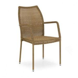Angelica кресло арт. 1072 - искусственный ротанг коллекция Brafab Швеция.