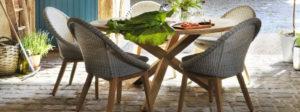 Искусственный ротанг мебель Bellaire Brafab и коллекция обеденных столов Circus готовы стать лучшим приобретением 2018 года для Вашей террасы!