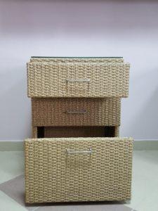Комодтумба с ящиками для летней кухни веранды Rotang-Kitchen!