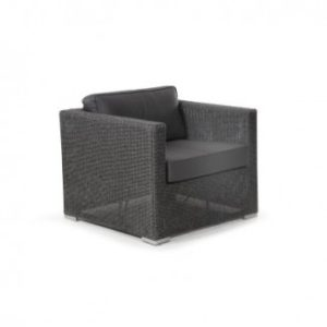 Кресло из ротанга искусственного Brookline арт. 4801-7-75 входит в состав Плетеная мебель Brookline Brafab Швеция!