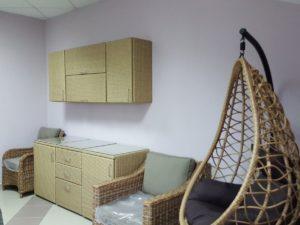 Мебель для летней кухни - мебель из искусственного ротанга Rotang-Kitchen set Malaga