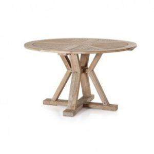 Стол из тика Cirkus 130 арт. 2093 - отличный обеденный стол для дачной веранды!