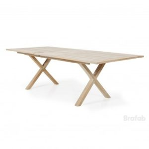 Стол из тика арт. 2092 brutus table Brafab Швеция.