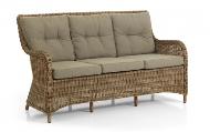 Диван ротанг искусственный Modesto - идеальный вариант когда нужен диван в составе обеденной группы!