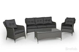 Искусственный ротанг мебель Colby Grey Relax