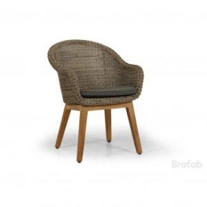 Кресло ротанг Beverly Арт. 5474-2-23 кресло для садовой обеденной группы Beverly & Eios. Brafab Швеция.