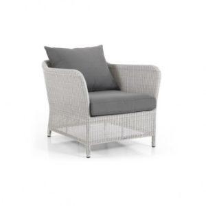 Кресло ротанг Loria арт. 10621-54-70 - белая плетеная мебель коллекции Brafab Loria.