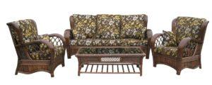 Мебель ротанг Casablanca-3 - комплект с 3-х местным диваном! Натуральный ротанг прямо из Индонезии!