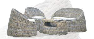 Мебель ротанг Dome - удобный, красивый, оригинальный - комплект из натурального ротанга для гостиной!