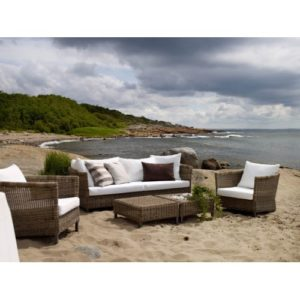 Плетеная мебель Menorca премиальный сегмент Brafab Швеция.