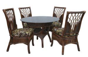 Ротанг мебель Casablanca - 4 персоны столовая группа. Стол +4 стула!