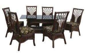 Ротанг мебель Casablanca - 6 персон столовая группа премиального качества от лучшей фабрики Индонезии!