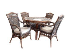 Ротанг мебель Java столовая группа для дома и дачи!
