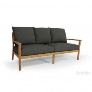 Софа из тика Chios арт. 2062-73 - премиальная мебель садовая из тика Brafab Швеция!