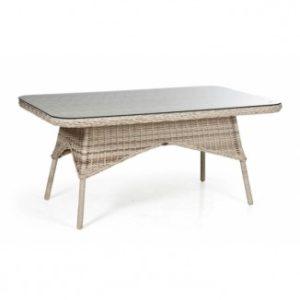 Стол из ротанга Evita beige - ваш обеденный стол премиального качества из Швеции!