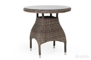 Стол из ротанга Ninja brown 70см. круглый обеденный стол арт. 4538-63. Отлично подойдет для балкона!
