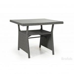 Стол из искусственного ротанга Soho 86см. цвет серый подойдет к дивану Soho или просто укомплектуйте стол 4-мя креслами Soho grey!