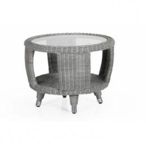 Стол кофейный из ротанга Evita grey - для лаунж комплекта Evita Brafab.