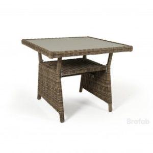 Стол плетеный Soho 86см. цвет Рустик - отличный новый оттенок коричневого цвета. Абсолютное сходство с натуральным ротангом!