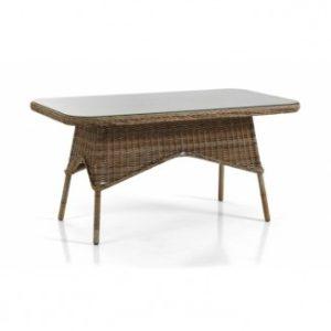 Стол ротанг искусственный Modesto арт. 5526-62 - цвет коричневый натуральный.