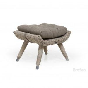Табурет из ротанга Silva арт. 5486-53-23 бежевый цвет - отлично смотрится с креслом Silva!