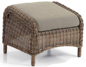 Табурет ротанг Evita арт. 5527-62 для кресел Evita mix. Поставляется в базе без подушки. Купить подушку можно отдельно.