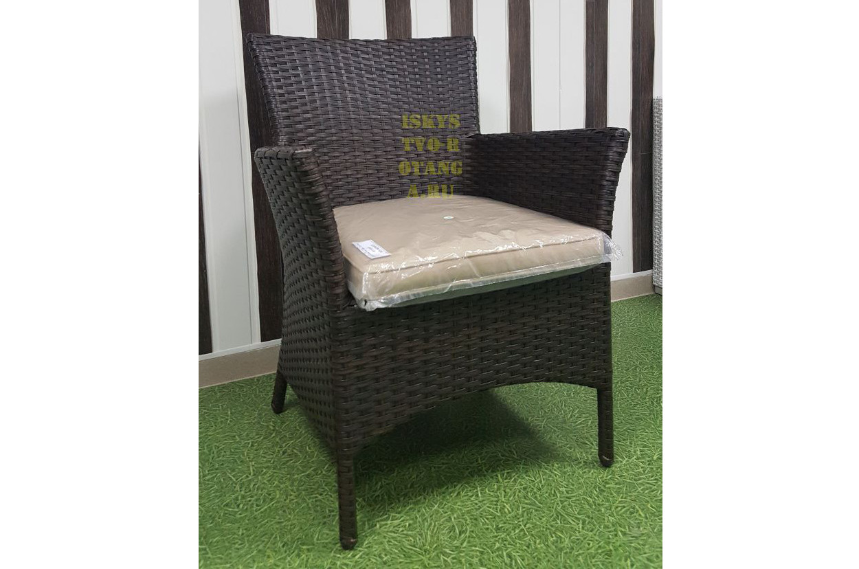 Фото-Кресло плетеное Nina Royal brown