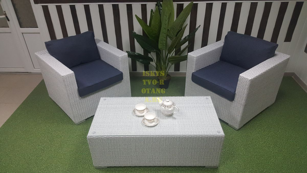 Фото-Louisiana cafe set мебель из ротанга для террасы