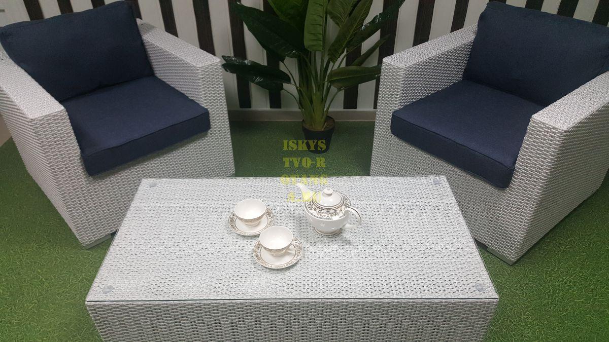 Фото-Мебель из искусственного ротанга Louisiana cafe set