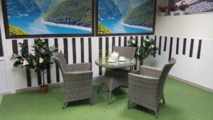 Фото-Плетеная мебель Nina Cafe set