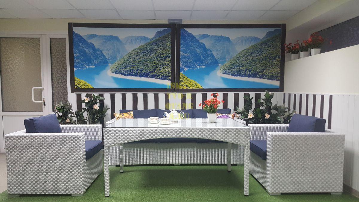 Фото-Ротанг Louisiana dining lounge Set