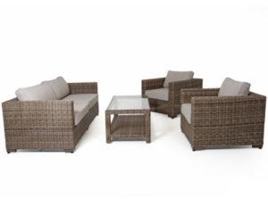 """Фото-Искусственный ротанг мебель """"Ninja"""" brown Brafab"""