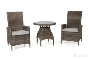 Фото-Плетеная мебель Ninja brown cafe set Brafab