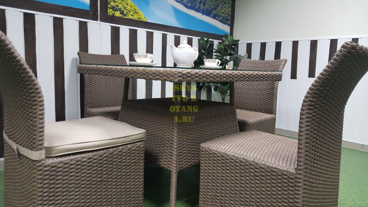 Фото-Ротанг мебель плетеная Rose 4 beige