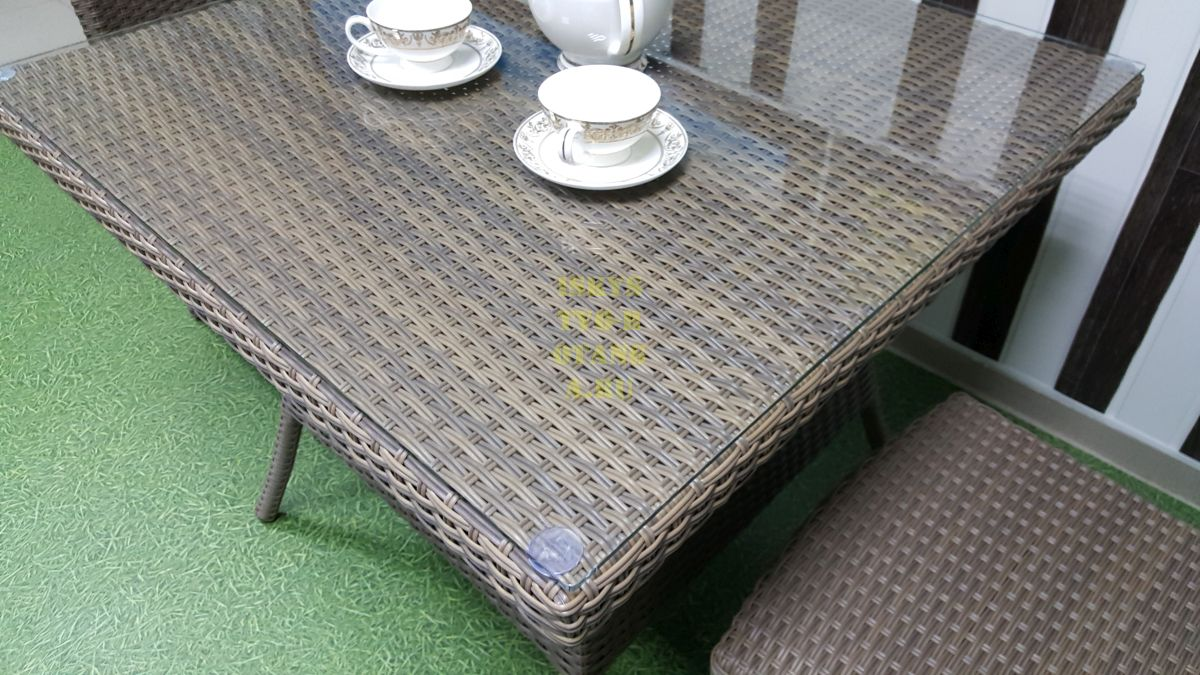 Фото-Ротанг плетеная мебель Rose 2 beige